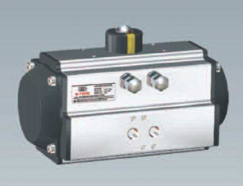 Pneumatic actuators – quarter turn